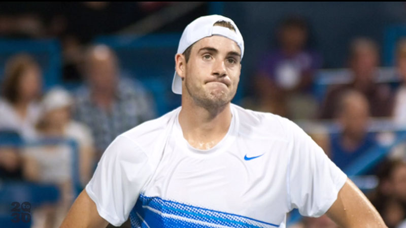 John Isner talks about setbacks in his 20s