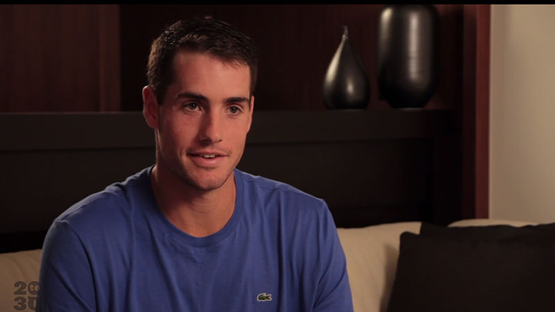 John Isner talks about success