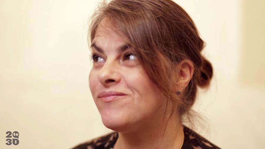 Tracey Emin talks about living in poverty
