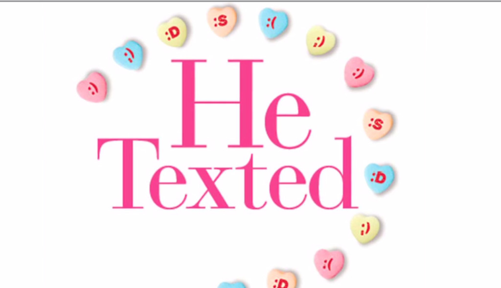 he texted book
