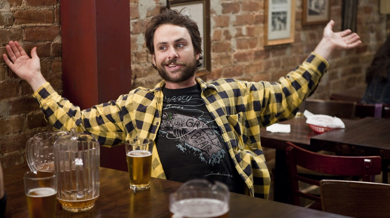 Charlie Day Tells Graduates To 'Not Give A SH*T'