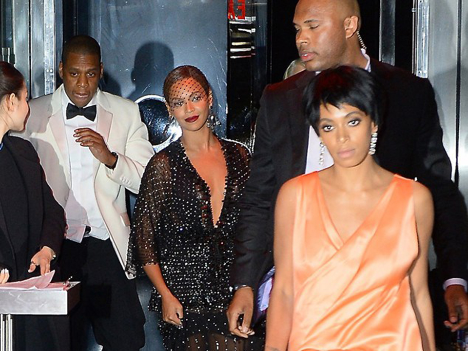 Solange Knowles Shows Jay Z No Love