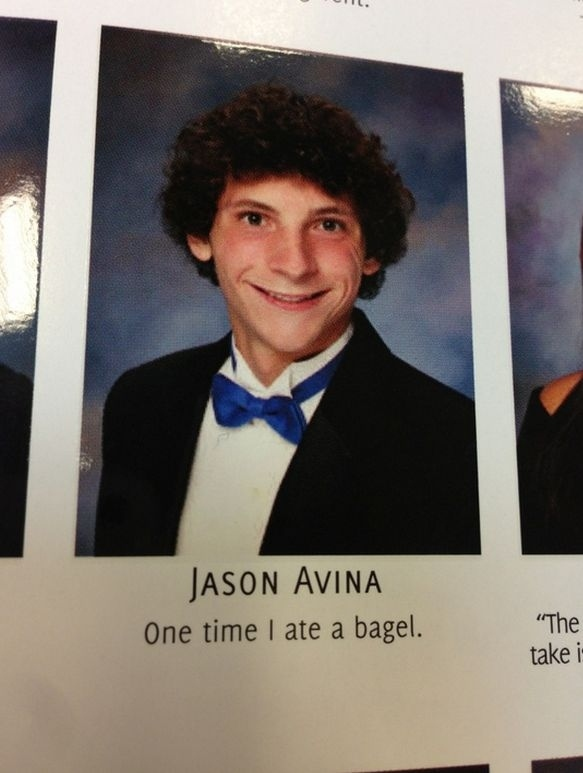 These 20 yearbook quotes are everything 20to30 yearbook quote bagel 20to30 graduation urtaz Choice Image