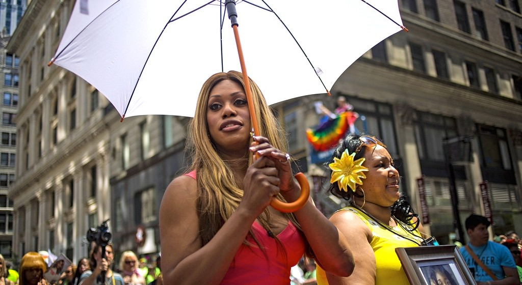Laverne Cox Brings Attention to Anti-Trans Violence at NY Pride