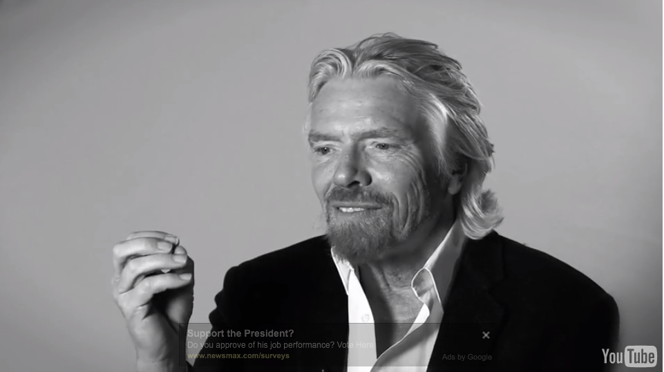 Richard Branson wonder PL 20to30