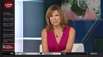 ESPN Anchor Hannah Storm Calls Out NFL's Domestic Violence Issues In Tearful Speech